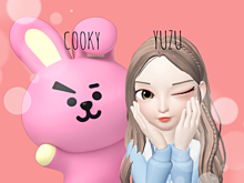 COOKY と I プリ画像