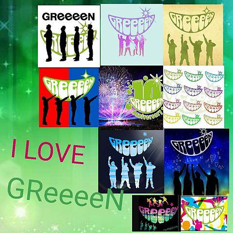 I LOVEGReeeeNの画像 プリ画像