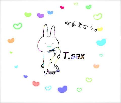 プリ画に投稿されていたT.saxの絵を加工しました!の画像(プリ画像)
