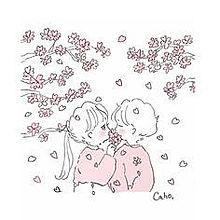 春のカップルの画像(カレカノに関連した画像)