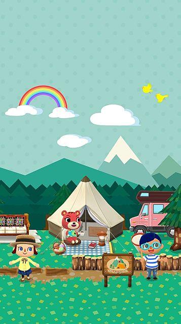 どうぶつの森 ポケットキャンプ 壁紙の画像(プリ画像)