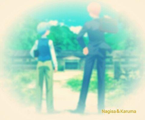 Nagisa&Karumaの画像(プリ画像)