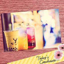 ♡オーロラドリンク♡の画像(飲み物に関連した画像)
