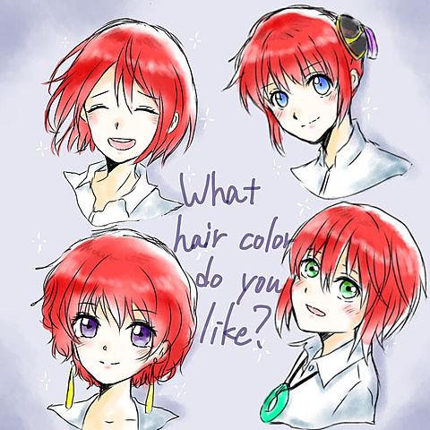 みなさんの好きな髪色は?の画像(プリ画像)