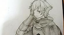 初描きロビンの画像(Fate/GrandOrderに関連した画像)
