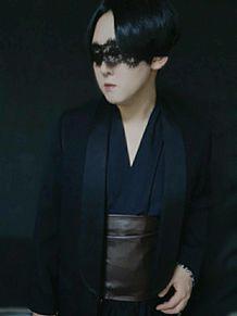 ダークファッション 和装 ブラックスタイルの画像(コスプレに関連した画像)