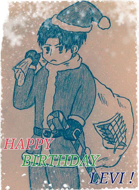 Merry Christmas & Happy Birthdayの画像(プリ画像)