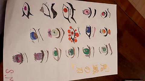 鬼滅の刃目の画像(プリ画像)