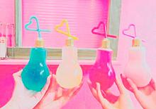 電球ソーダの画像(飲み物に関連した画像)