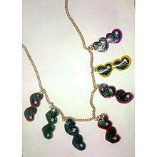 ハートサングラスネックレスの画像(ネックレスに関連した画像)