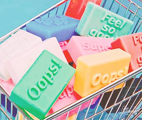 オシャレでかわいい石鹸の画像(プリ画像)