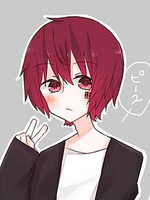 赤髪まふ!!の画像(プリ画像)