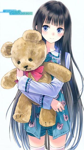 girl hugging teddy bear MEMEs
