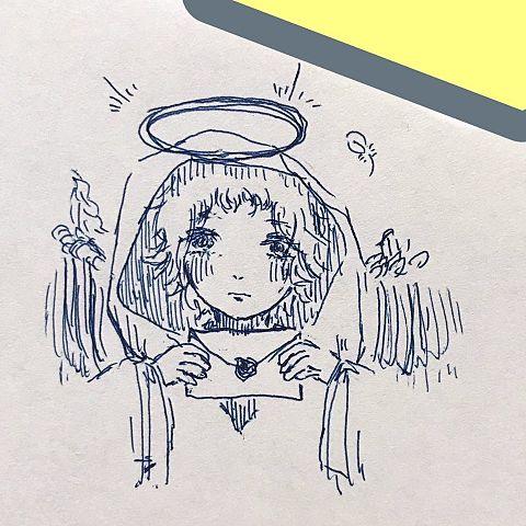 天使みたいなの画像(プリ画像)