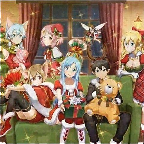 SAOクリスマスの画像(プリ画像)