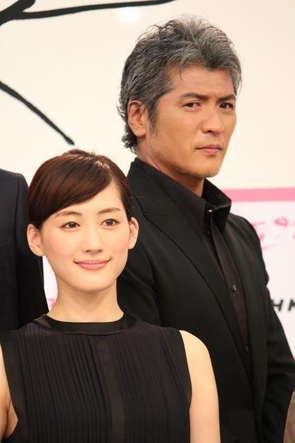 綾瀬はるかと吉川晃司