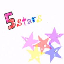 〜5stars〜の画像(プリ画像)
