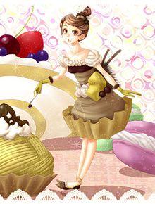 モンブラン嬢の画像(プリ画像)
