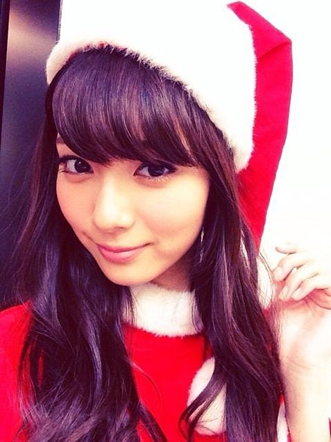 サンタクロースな優愛ちゃん。