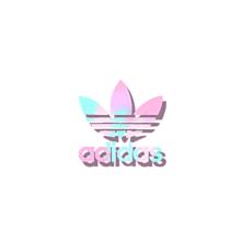 色変えリク募集中影付きadidasロゴ☆彡.。の画像(メタリックに関連した画像)