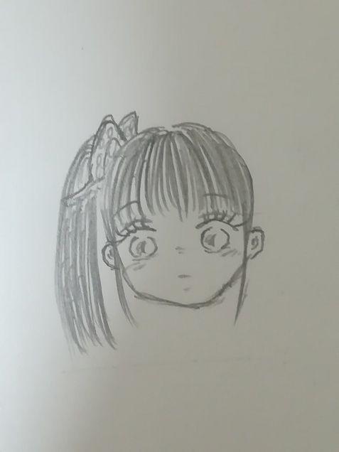 私の絵柄で描きました💦  栗花落カナヲの画像(プリ画像)