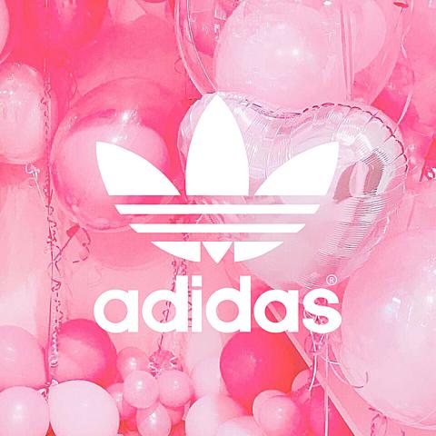 【再投稿】adidas&NIKE💞 💗の画像(プリ画像)