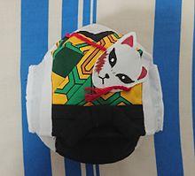 鬼滅の刃マスク 錆兎(さびと) 着物型 キッズマスクの画像(手作り、手縫い、マスクに関連した画像)