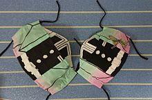 鬼滅の刃キッズマスク 胡蝶しのぶなりきり✨親子、コスプレの画像(手作り、手縫い、マスクに関連した画像)