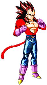 ベジータ 超サイヤ人4の画像(プリ画像)
