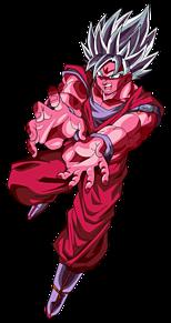 超サイヤ人ブルー界王拳 孫悟空の画像(プリ画像)
