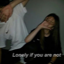 LoneIy if you are notの画像(プリ画像)
