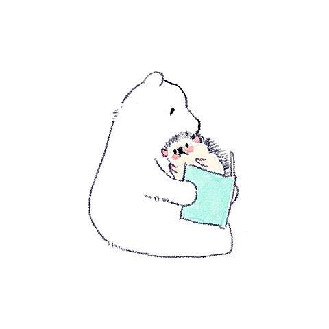 かわいいハリネズミのイラスト【ハリネズミのソフィー】の画像(プリ画像)