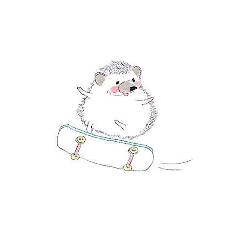 かわいいハリネズミのイラスト【ハリネズミのソフィー】の画像 プリ画像