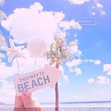 ピンクビーチ プリ画像