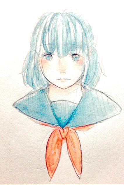 蒼い子!の画像(プリ画像)