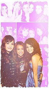 Demi Miley Selena ♥ロック画面♥の画像(マイリーサイラスに関連した画像)