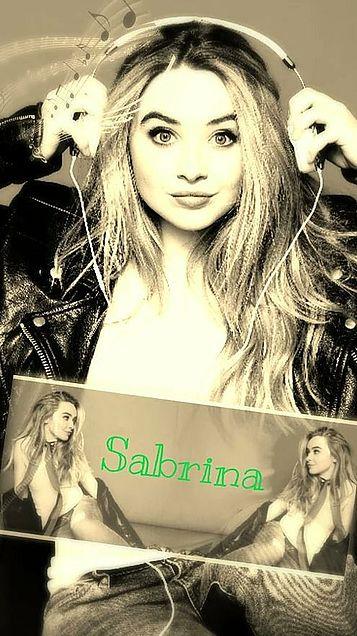 SabrinaCarpenter 壁紙の画像(プリ画像)