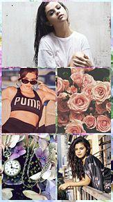 Selena Gomez ロック画面 プリ画像
