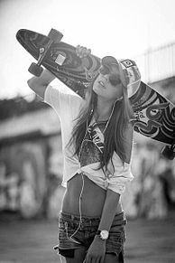 スケボー女子の画像(#スケボー女子に関連した画像)