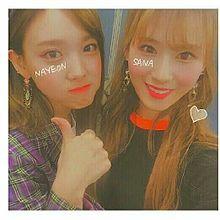 TWICE  サナ&ナヨン プリ画像
