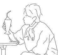 線画イラストの画像(お山に関連した画像)