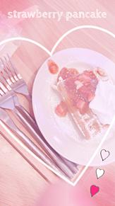 strawberry pancakeの画像(strawberryに関連した画像)