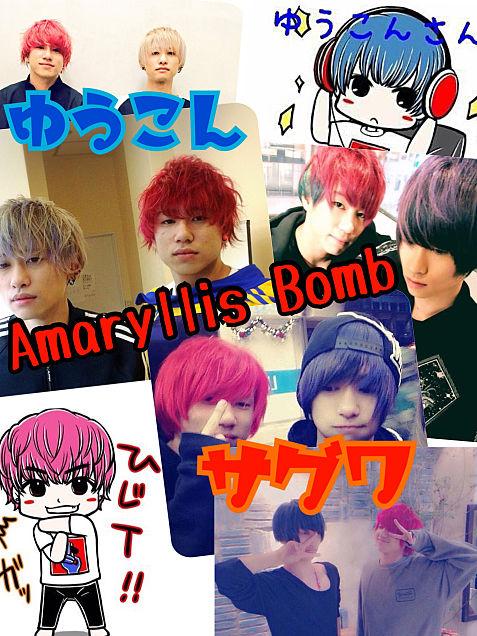 Amaryllis Bombの画像(プリ画像)