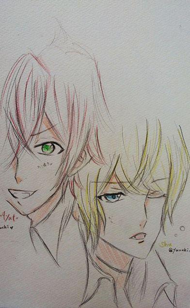 アヤトとシュウの画像(プリ画像)