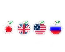 国旗りんごの画像(プリ画像)