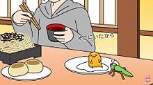 蕎麦屋でイナゴの画像(プリ画像)