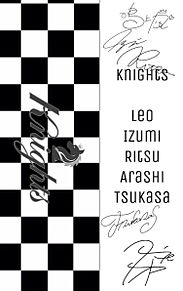 モノクロ キンブレシート Knightsの画像(キンブレシート あんスタに関連した画像)