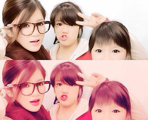 仲良い姉妹の画像(プリ画像)