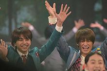 佐藤勝利&平野紫耀の画像(紅白歌合戦に関連した画像)