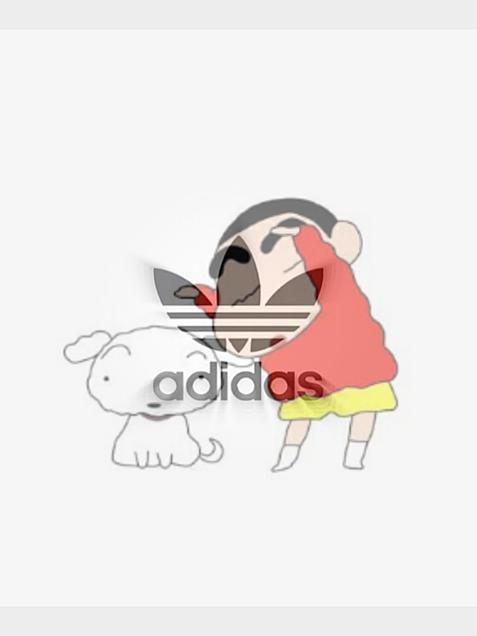 クレヨンしんちゃんアディダスの画像(プリ画像)